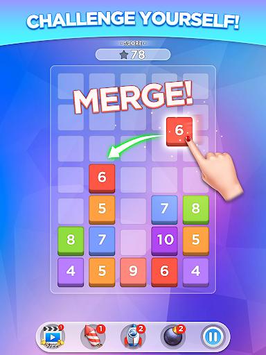 Merge Number Puzzle 2.0.10 Screenshots 4