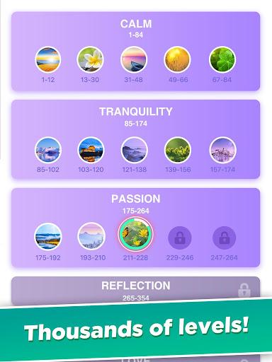 Word Calm - Relax and Train Your Brain screenshots 12