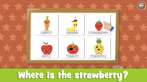 Learn fruits and vegetables - games for kids 1.5.4 screenshots 18