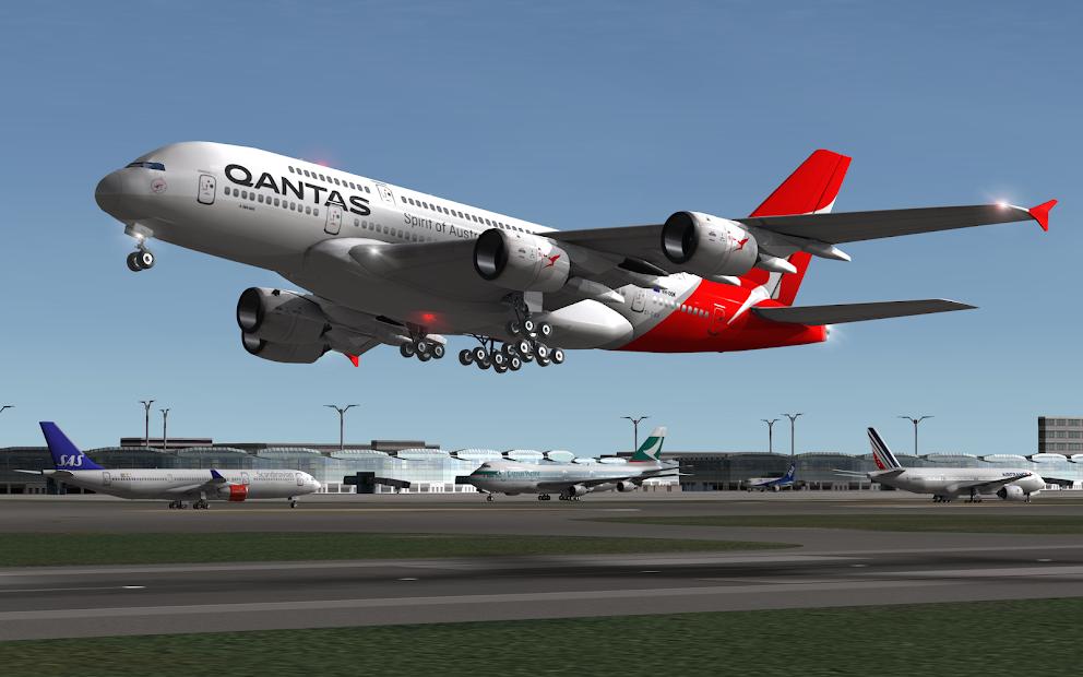 RFS - Real Flight Simulator Android App Screenshot