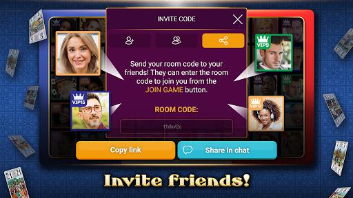 VIP Tarot - Free French Tarot Online Card Game 3.7.4.26 screenshots 3