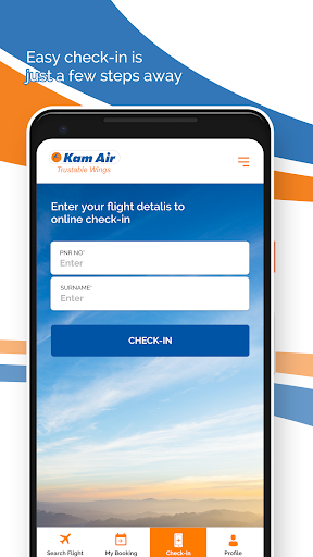 kam air trustable wings screenshot 2