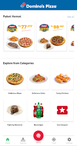 Domino's Pizza Indonesia - Home Delivery Expert 5.1.07 Screenshots 2