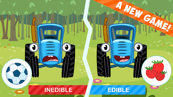 The Blue Tractor: Fun Learning Games for Toddlers 1.2.0 Screenshots 1