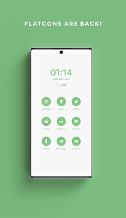 Green - A Flatcon Icon Pack