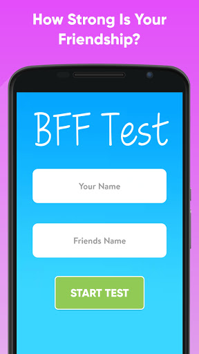 BFF Friendship Test screenshots 1