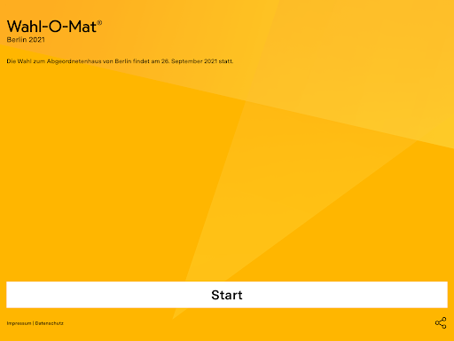 Wahl-O-Mat  screenshots 16