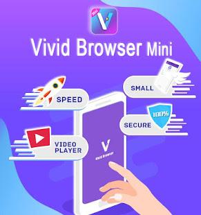 Vivid Browser Mini:Private&Fast