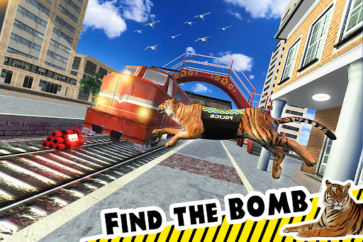 Police Tiger Chase Simulator: City Crime Apkfinish screenshots 13