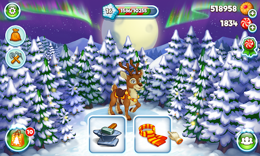 Farm Snow: Happy Christmas Story With Toys & Santa screenshots 5