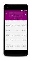 screenshot of Ya Tren Free - Train timetables