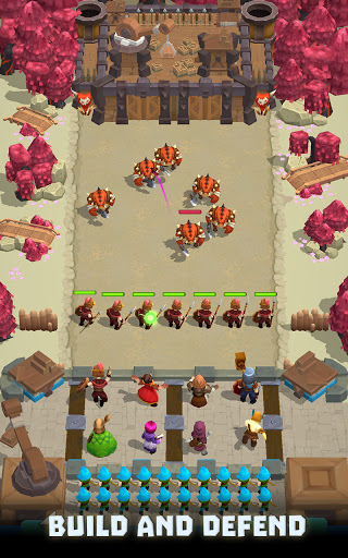 Wild Castle TD: Grow Empire Tower Defense in 2021  screenshots 12