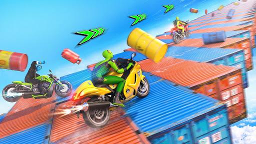 Mega Ramp Motorbike Impossible Stunts screenshots 7