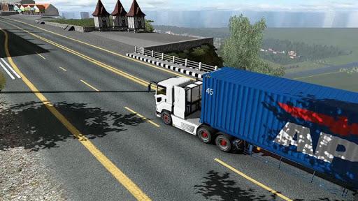 Euro intercity Transport Truck Similator 2021 apkdebit screenshots 8