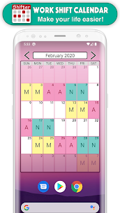 Work Shift Calendar Mod Apk (Pro/Paid Unlocked/PRO/EXTRA) 7