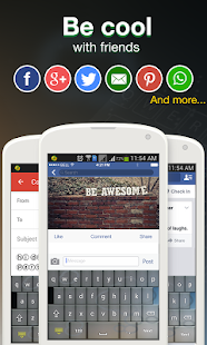 Cool Fonts for Whatsapp & SMS Screenshot