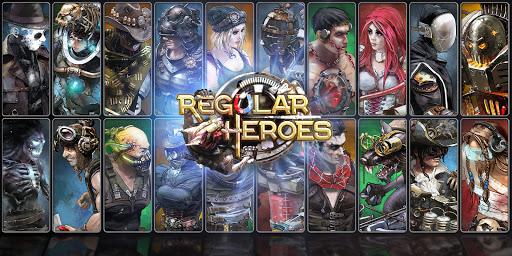 Regular Heroes - Steampunk Card Game (CCG)  screenshots 1