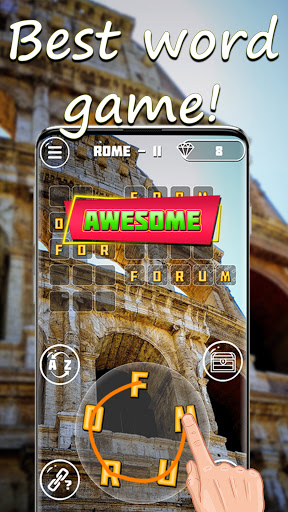 Words & travel puzzle: offline and free  screenshots 6