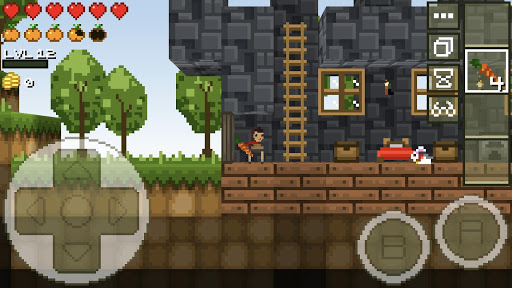 LostMiner: Block Building & Craft Game  screenshots 5