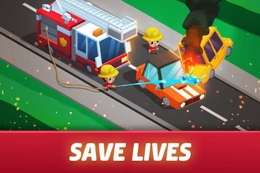 Idle Firefighter Tycoon - Fire Emergency Manager 0.14 screenshots 11