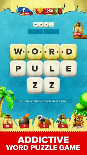 Mind Pirates: Word Puzzle Game. Word Search Game  screenshots 1