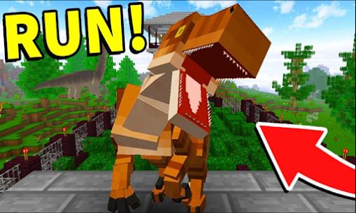 Raptors Project Mod for Minecraft PE Game Hack & Cheats 1