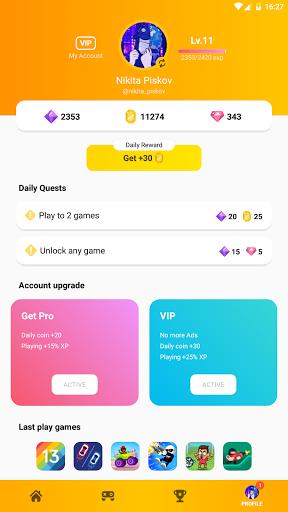 Mini Arcade - Two player games 1.5.2 screenshots 10