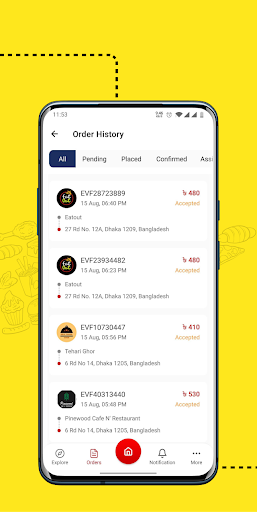 eFood - Express Food Delivery 1.6 screenshots 5