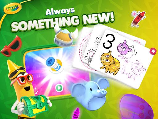 Crayola Create & Play: Coloring & Learning Games  screenshots 23