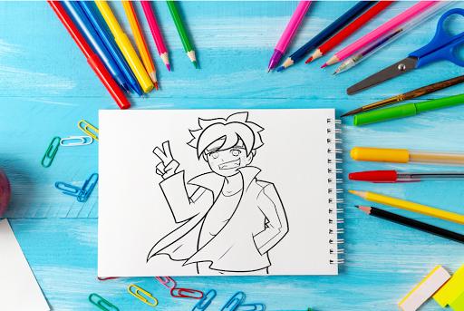 How To Draw Cartoon Anime  Screenshots 13