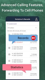 Toll-Free 1-800 cloud virtual phone number online