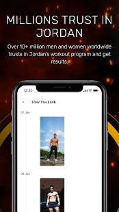 Train With Jordan - Gym, Home Workout, Weight Loss