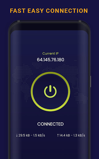 Free VPN | Blitz Turbo | Fast Hotspot Proxy Server android2mod screenshots 2