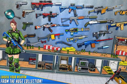 Real Commando Shooting Strike - Fps Shooting Games screenshots 5