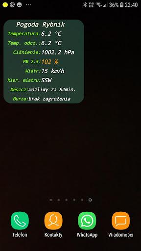 Pogoda Rybnik  screenshots 2