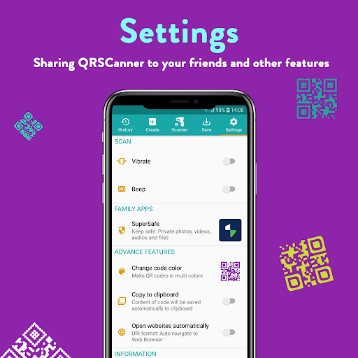 QR Code & Barcode: Scanner, Reader, Creator android2mod screenshots 8