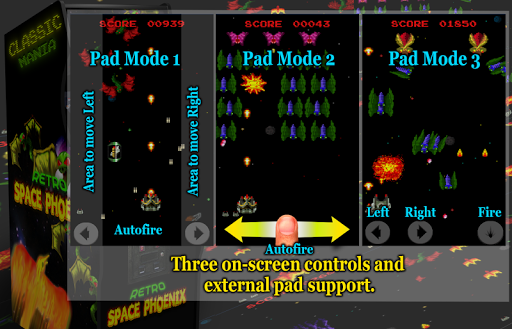 Retro Space Phoenix screenshots 5