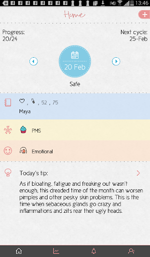 Maya - Period, Fertility, Ovulation & Pregnancy  Screenshots 10