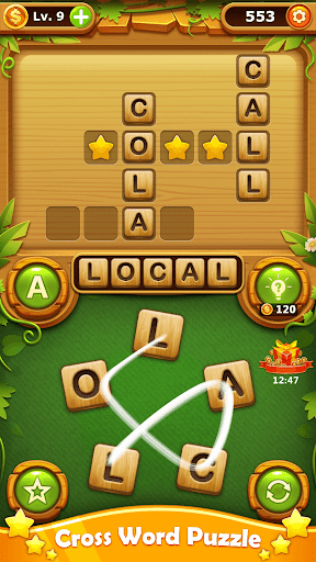 Word Cross Puzzle: Best Free Offline Word Games 3.6 Screenshots 1