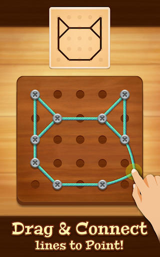 Line Puzzle: String Art modiapk screenshots 1