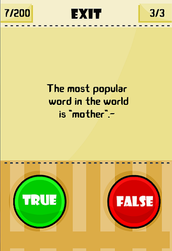 True or False - New version 1.2.6 screenshots 1