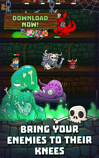 Idle Dungeon Heroes apkpoly screenshots 3