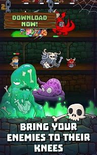 Idle Dungeon Heroes MOD (Unlimited Gems/Souls) 3