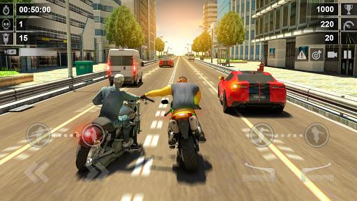 Road Rash 3D: Smash Racing apkpoly screenshots 1