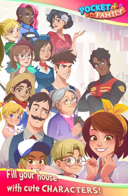 Pocket Family Dreams: Build My Virtual Home  poster 12