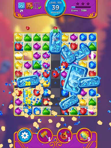 Jewel Witch - Best Funny Three Match Puzzle Game 1.8.2 screenshots 13