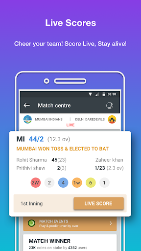 prediction guru™ - live score, sports tip #engvswi screenshot 1