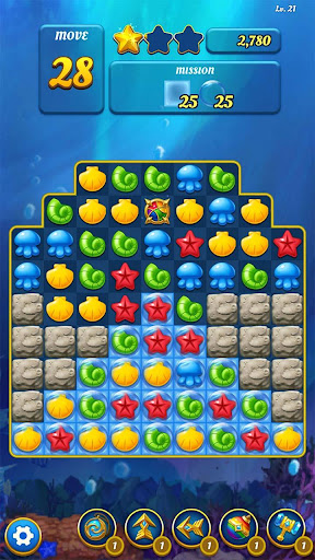 Ocean Splash Match 3: Free Puzzle Games 3.6.0 screenshots 6