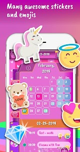 Unicorn Calendar  Apps For Pc – Free Download In 2021 – Windows And Mac 1