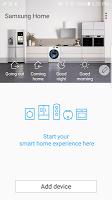screenshot of Samsung Smart Home